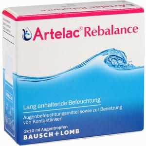 Abbildung von Artelac Rebalance Augentropfen 3 x 10 ml