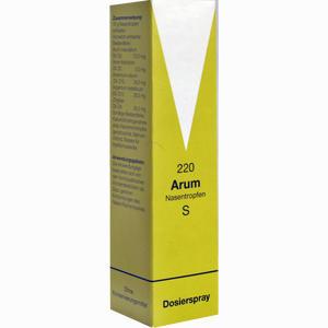 Abbildung von Arum Nasentropfen S 220  10 g