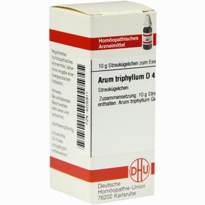 Abbildung von Arum Triph D4 Globuli 10 g