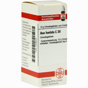 Abbildung von Asa Foetida C30 Globuli 10 g