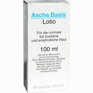 Abbildung von Asche Basis Lotio Lotion 100 ml