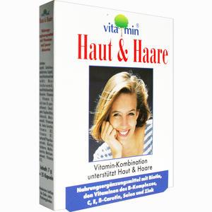 Abbildung von Asconex Haut & Haare Vitamin Natur Pharma Kapseln  15 Stück