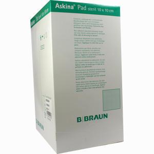 Abbildung von Askina Pad 10x10cm Nichthaft Wundauflage Steril 100 Stück