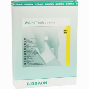 Abbildung von Askina Sorb Sterile Alginat- Cmc- Wundauflage 6x6cm 10 Stück