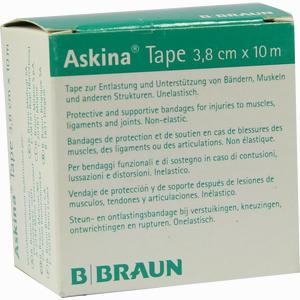 Abbildung von Askina Tape 10mx3,8cm Grün 1 Stück