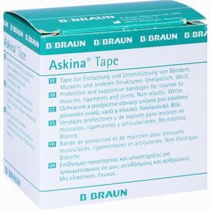 Abbildung von Askina Tape 10mx3,8cm Weiß 1 Stück