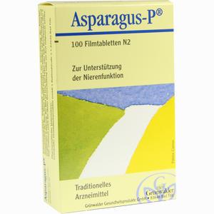 Abbildung von Asparagus P Tabletten 100 Stück