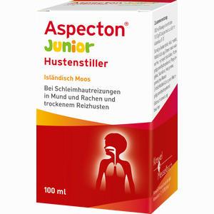 Abbildung von Aspecton Junior Hustenstiller Isländisch Moos Saft 100 ml