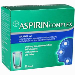 Abbildung von Aspirin Complex Beutel Granulat 20 Stück