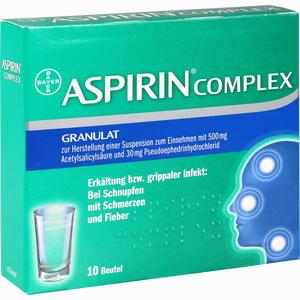 Abbildung von Aspirin Complex Granulat  10 Stück