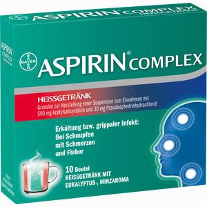 Abbildung von Aspirin Complex Heissgetränk Beutel 10 Stück