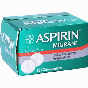 Abbildung von Aspirin Migräne Brausetabletten 24 Stück