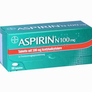 Abbildung von Aspirin N 100mg Tabletten 98 Stück