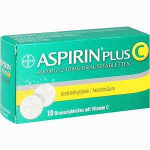 Abbildung von Aspirin Plus C Brausetabletten 10 Stück