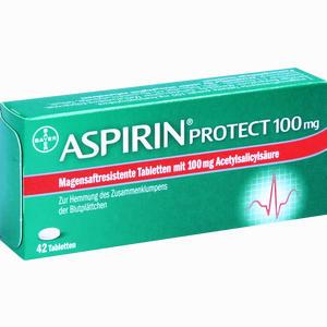 Abbildung von Aspirin Protect 100mg Tabletten 42 Stück
