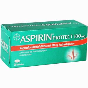 Abbildung von Aspirin Protect 100mg Tabletten 98 Stück