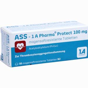 Abbildung von Ass - 1 A Pharma Protect 100 Mg Tabletten 50 Stück