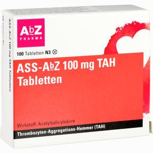 Abbildung von Ass- Abz 100 Mg Tah Tabletten  100 Stück