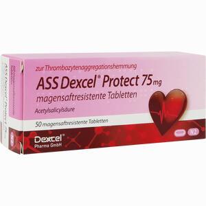 Abbildung von Ass Dexcel Protect 75mg Tabletten 50 Stück