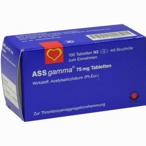 Abbildung von Ass- Gamma 75mg Tabletten  100 Stück