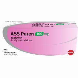 Abbildung von Ass Puren 100 Mg Tabletten  50 Stück