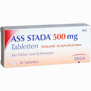 Abbildung von Ass Stada 500 Tabletten 10 Stück