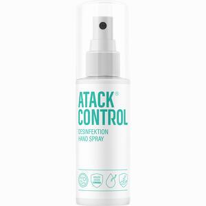 Abbildung von Atack Control Desinfektion Hand Spray  100 ml