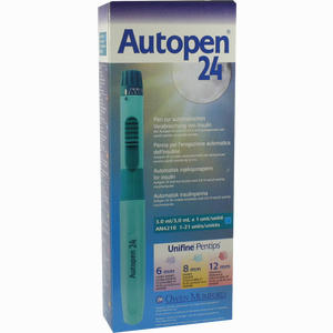 Abbildung von Autopen 24 F. Aventis Insulin Patr. 3ml 1erschritte 1 Stück