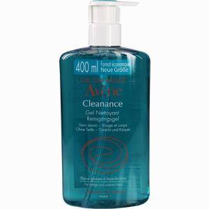 Abbildung von Avene Cleanance Reinigungsgel Gel 400 ml