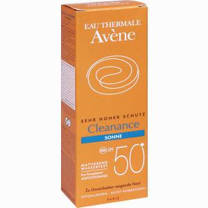Abbildung von Avene Cleanance Sonne Spf50+ Emulsion  50 ml