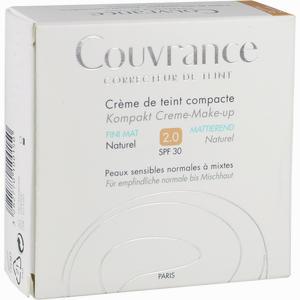 Abbildung von Avene Couvrance Kompakt Creme- Make- Up Mattierend Naturel 02  10 g