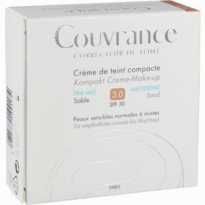 Abbildung von Avene Couvrance Kompakt Creme- Make- Up Mattierend Sand 3  10 g