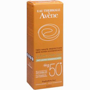 Abbildung von Avene Sunsitive Anti- Aging Sonnenschutz Spf50+ Emulsion 50 ml
