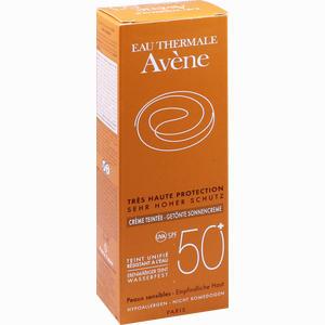Abbildung von Avene Sunsitive Sonnencreme Spf 50+ Getönt  50 ml