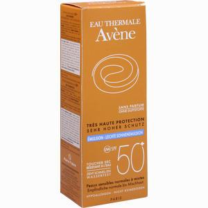 Abbildung von Avene Sunsitive Sonnenemulsion Spf 50+ Ohne Duftstoffe  50 ml