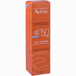 Abbildung von Avene Sunsitive Sonnenfluid Lsf 50+ Ohne Duftstoffe 50 ml