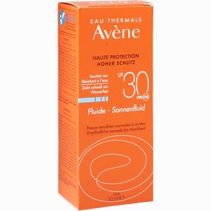 Abbildung von Avene Sunsitive Sonnenfluid Spf 30 Emulsion 50 ml