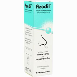 Abbildung von Azedil 1 Mg/ml Nasenspray Lösung  10 ml