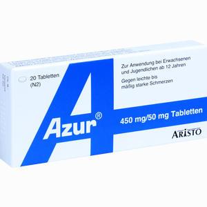 Abbildung von Azur Tabletten 20 Stück
