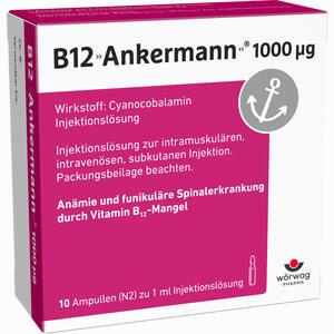 Abbildung von B12 Ankermann 1000 µg Ampullen  10 x 1 ml
