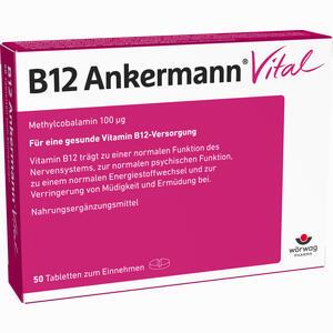 Abbildung von B12 Ankermann Vital Tabletten 50 Stück