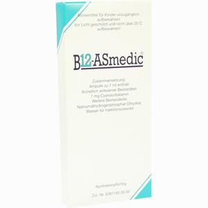 Abbildung von B12- Asmedic Ampullen 10 x 1 ml