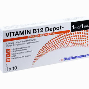 Abbildung von B12 Depot Rotexmedica Ampullen 10 x 1 ml