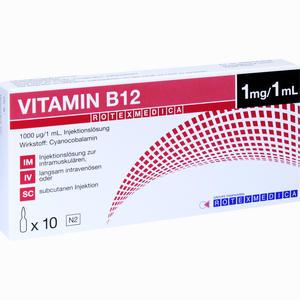 Abbildung von B12- Rotexmedica Injektionslösung  10 x 1 ml