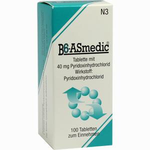 Abbildung von B6- Asmedic Tabletten 100 Stück