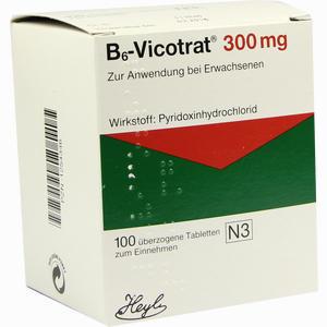 Abbildung von B6- Vicotrat 300mg überzogene Tabletten  100 Stück