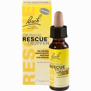 Abbildung von Bach Original Rescue Tropfen Alkoholfrei  10 ml