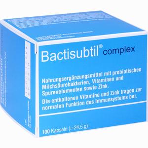 Abbildung von Bactisubtil Complex Kapseln 100 Stück