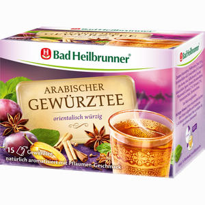 Abbildung von Bad Heilbrunner Arabischer Gewürztee Tee 15 Stück
