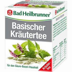 Abbildung von Bad Heilbrunner Basischer Kräutertee Filterbeutel 8 Stück